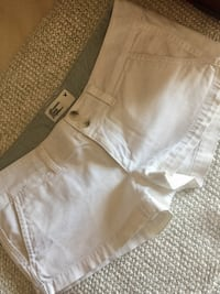 women's white short shorts