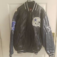 black and gray leather zip-up jacket Las Vegas, 89108