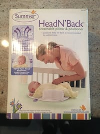Head and back breathable pillow and position er (Summer Brand)