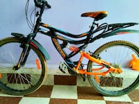 black and yellow full-suspension bike Sidhi, 486661