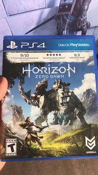 Horizon Zero Dawn PS4 game case Bend, 97701