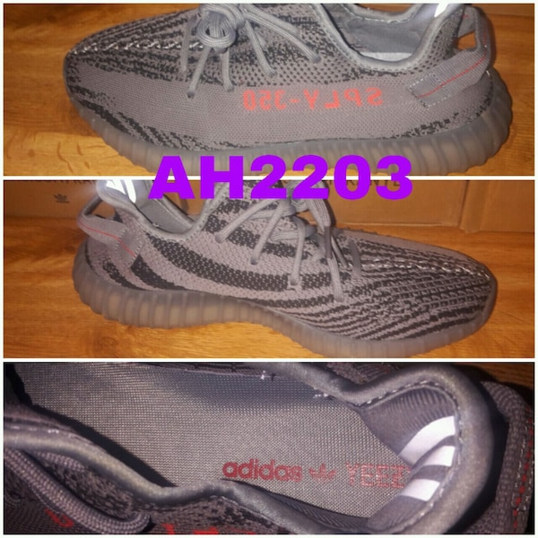 pair of gray Adidas Yeezy Boost 350. HomeFashion and Accessories Grand  Prairie 7c17e26f2