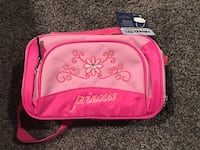 Princess lunch bag pink color insulated  Cudahy, 90201