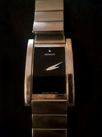 rectangular silver-colored Movado analog watch with link band Winnipeg, R2H