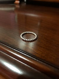 PANDORA Sliver Eternal Clouds Stackable Ring Size 6  552 km