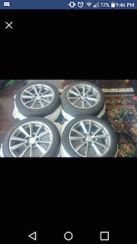 Cadillac CTS rims Langley City, V3A 4H9