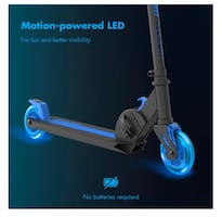 Yvolution Neon Vector Kick Scooter, Blue