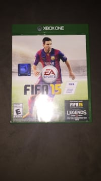 FIFA 15 Xbox One game case Vaughan, L4H 2R1
