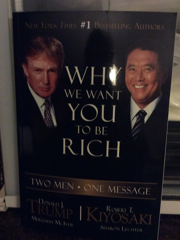 Used Why We Want You To Be Rich Book For Sale In Greensboro Letgo
