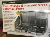 black and gray Coleman gas grill box Nashville, 37217