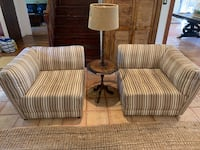 Accent chairs and floor lamp Houston, 77040