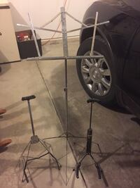 Music stand and guitar stand  Joliet, 60586