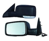 Pair of black wing mirrors Jacksonville, 75766