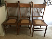 Kitchen chairs. Fresno, 93720