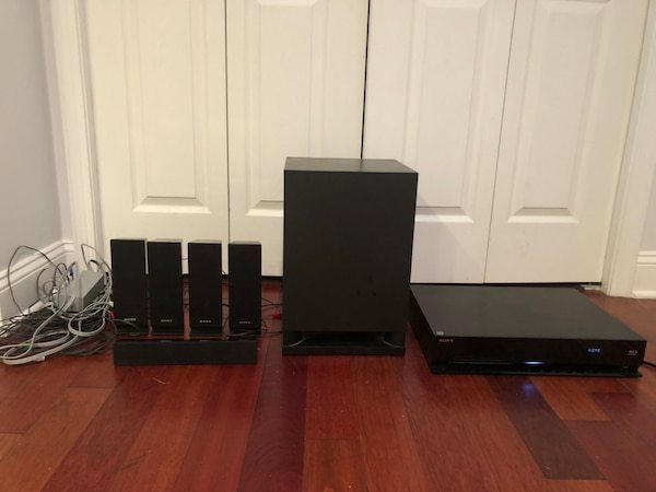 Sony surround system and dvd blue-ray player