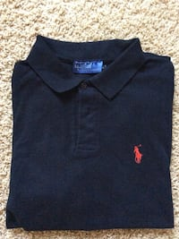Black ralph lauren polo shirt Corona, 92883
