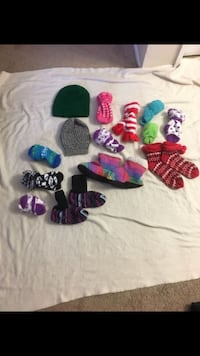 Fuzzy socks and beanies  Lancaster, 93534