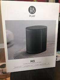 Bang & Olufsen Beoplay M3 Compact and Powerful Wireless Speaker Toronto, M5V 2T6
