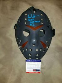 Jason Vorhees signed, inscribed & authenticated  Toronto, M1L 2T3
