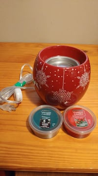 Must go! New Yankee Candle wax cup warmer & wax cups. Located in Simcoe. Pickup only.