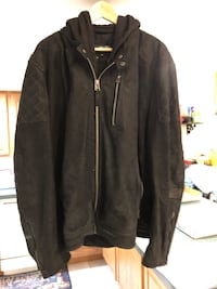 Hooded Suede Jacket from Wilson's Leather Baltimore, 21230