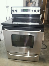 GE 5 Burners Stainless steel Electric Stove  Tulsa