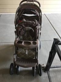 Graco stroller brown
