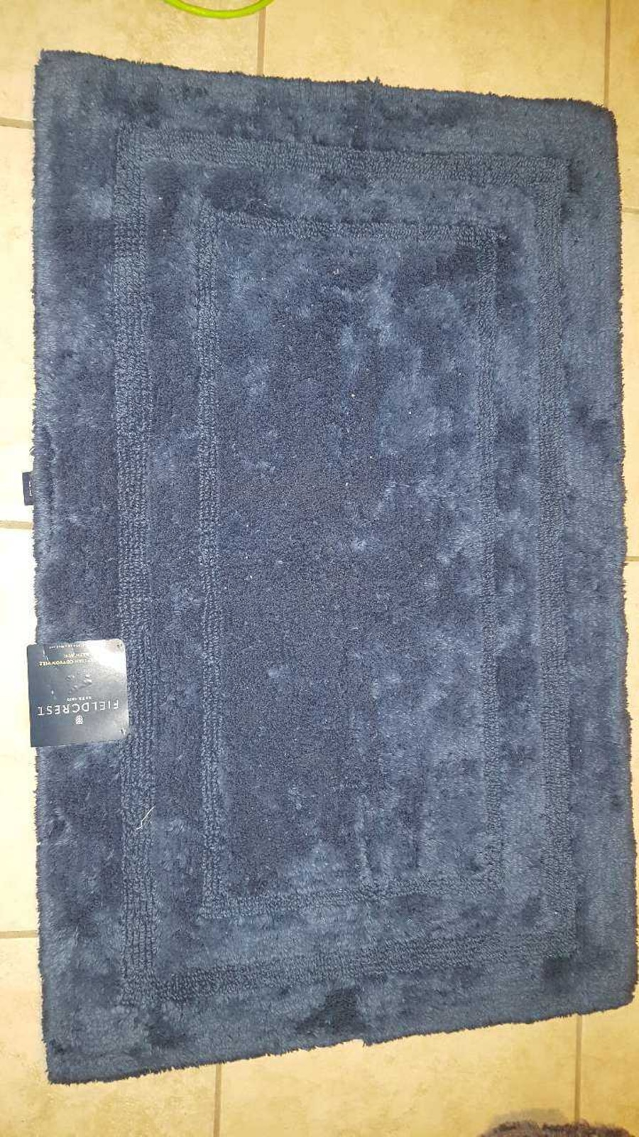 Used Fieldcrest Egyptian Cotton Pile Bath Rug In Clarksville