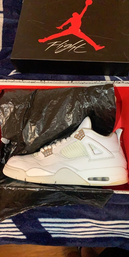 Photo Jordan 4 Pure money