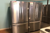 New stainless steel French door refrigerator 10% off Reisterstown, 21136