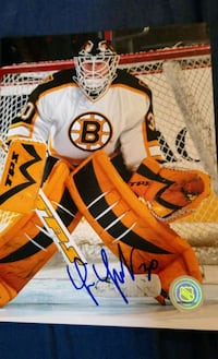 Tim Thomas autographed Boston Bruins 8x10 photo  Edmonton, T6H 5G1