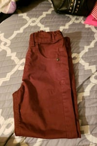 Boys Burgundy size 6 regular pants Baltimore, 21202
