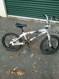 white and black BMX bike Knoxville, 37921