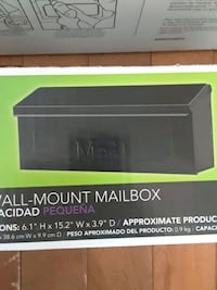The Townhouse Steel Horizontal Wall Mount Mailbox Zephyr, L0E 1T0