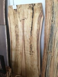 Beautiful one of a kind spalted hard maple table Toronto, M6B