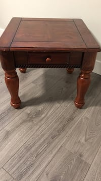 Wooden side table Surrey, V3W 7A4