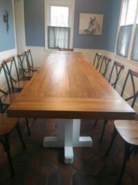 11.5 foot community table Cherry Hill, 08002