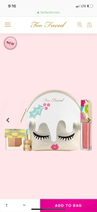 Too Faced Christmas gift set Los Angeles, 90033