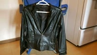 black leather zip-up jacket Kamloops, V2B 1C5