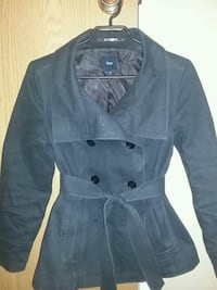 Charcoal button up coat size small Calgary, T2T 3T3