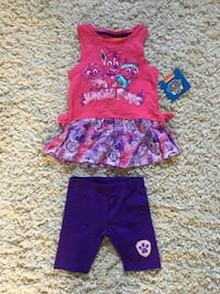 Brand New Paw Patrol summer outfit with tags. 5T Regina