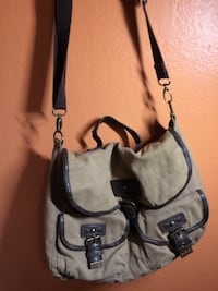 Vintage military green messenger bag  Rowland Heights, 91748