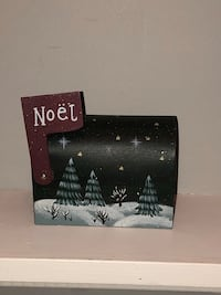Christmas mini Metal mailbox.  Mail your kids letters to Santa! Edmonton, T6L 6P5