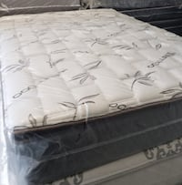 QUEEN SIZE MATTRESS PILLOW TOP SET  Hallandale Beach, 33009
