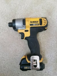 black and yellow Dewalt cordless impact wrench Catonsville, 21228