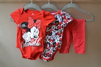 3 Piece Minnie Mouse Outfit- 0-3 month Reston, 20191