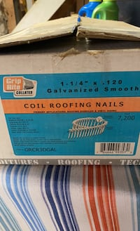 Cooled Roofing Nails