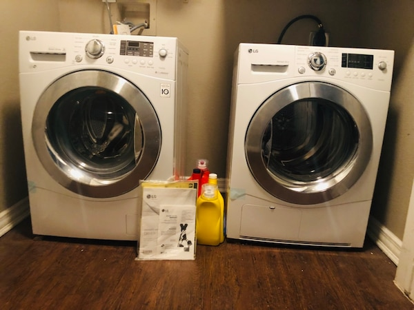 LG Compact Front Load Washer and Dryer