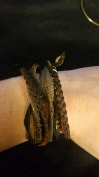 Leather wrap bracelet  Fairfax, 22031