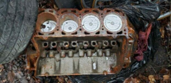 Used 1968 Oldsmobile v8-455 R engine bored  30 for sale in
